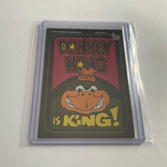 Donkey Kong '13 Topps 75th Anniversary Card
